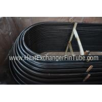 Buy cheap A192 / A210 Seamless Cold Drawn Heat Exchanger U Tube for Boiler product