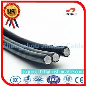Best 2 * 25 Duplex Underground Aluminum Cable , 2 Aluminum Wire XLPE Insulated Cable wholesale