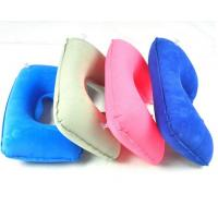 China Inflatable U-shape neck pillow for travel and car ride on sale