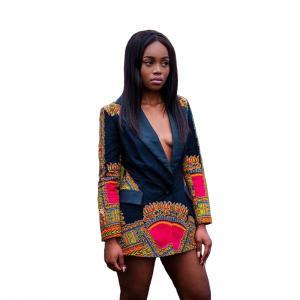 Best Africa Printed Dashiki Jacket Lady Fashion African Ladies Jackets Traditional Batik Prining wholesale