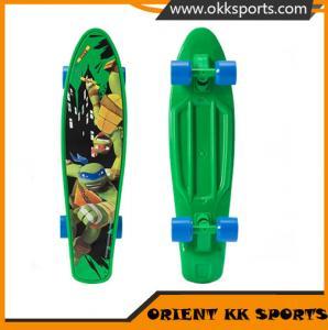 China EN71 Approval Longboard Skateboard Mini Cruiser Board Fish style Board on sale