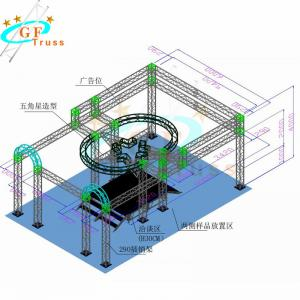 Best 6082 Square Goal Post Truss For DJ Tradeshows Stage wholesale