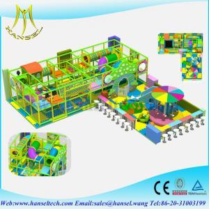 China Hansel National Standard Kids Steel kids indoor playground equipment on sale