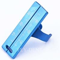 Best Endodontic File Ruler Dental Endo Rulers Dental Root Canal Measurement Instrument wholesale