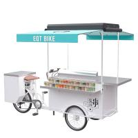 Best Electric / Pedal Trike Food Cart With High Temperature And Corrosion Resistance wholesale