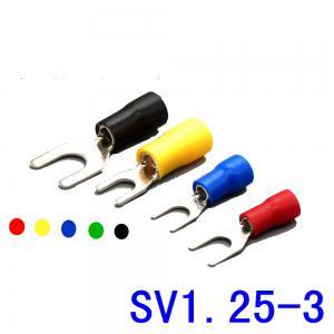 SV 1.25-3 Series Insulated Spade Crimp Terminals