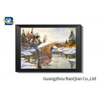 Best Custom Design Wolves 3D Lenticular Printing Picture For Gift , Home Decoration wholesale