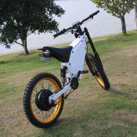 China Full Suspension Powerful Ebike 72V 3000W With 45mm Magnet Hub Motor on sale
