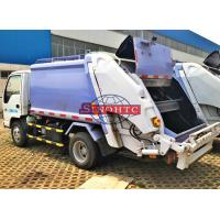 Best Compactor Waste Collection Trucks 3 - 5 Tons Loading 4m3 Volume Light Duty wholesale