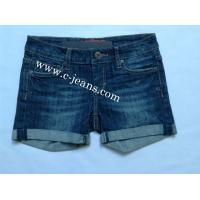 China Popular Lady's Jeans Pants Jeans Shorts on sale