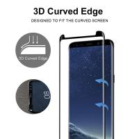 Best Full Screen Coverage [Case Friendly] Tempered Glass Bubble-Free 3D Curved Screen Protector for Samsung Galaxy Note8 wholesale