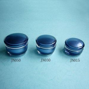 Best Special Mushroom Shaped Acrylic Cream Jar wholesale