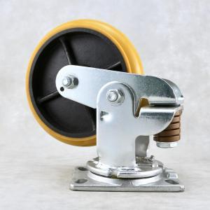 Best Industry Shock Absorbing Casters / Spring Loaded Heavy Duty Trolley Wheels wholesale