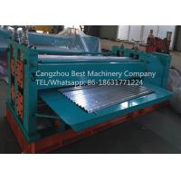 Best ARC Waves Bending Roofing Sheet Roll Forming Machine Chain / Gear Box Driven System wholesale