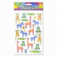 Best Glitter stickers, vivid and eye-catching designs wholesale