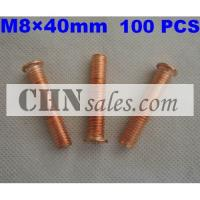 Best 100 PCS M8×40mm Stud weld screw with outside thread wholesale