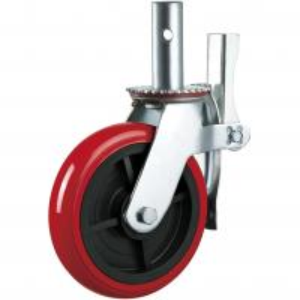 Best Stem PU 6 Inch 8 Inch Heavy Duty Caster Wheels Industrial Outdoor Support wholesale