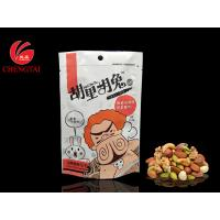 Best Custom Order Stand Up Pouches / Snack Packaging Bags with Aluminum Foil wholesale