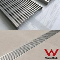 China STAINLESS STEEL linear floor drain grate on sale