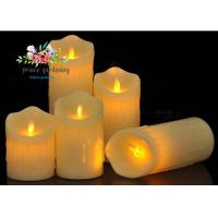 Best Plastic Material LED Candle Light Battery Operated For Wedding , Night Club wholesale