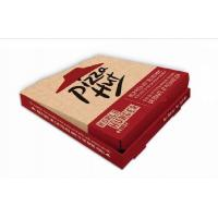 China Pizza Hut Paper Box , Pizza Box Packaging , Custom Pizza Box , Inch Pizza Box on sale