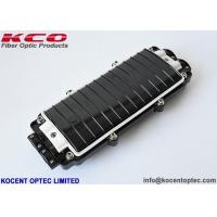 Best 2 In 2 Out Inline Fiber Optic Splice Enclosure Box ABS PC Material IP67 Mechanical Seal wholesale