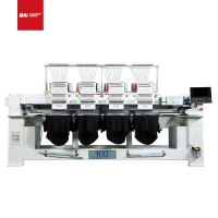 Cheap 4 Head High Speed Embroidery Machine 1200rpm 3D Hat Embroidery Machine for sale