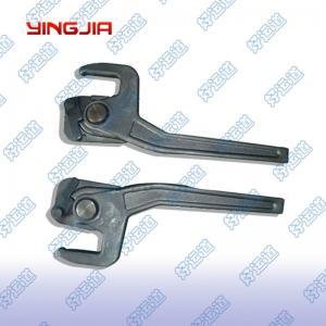 China 03218/03219  Fastening Hooks dropside latch Trailer steel spring loaded lock on sale