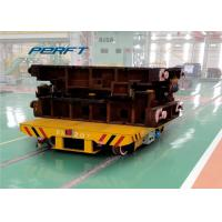 Best scissor hydraulic lifting rail transfer cart with battery powered wholesale