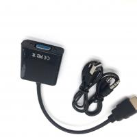 China High Resolution HDMI Converter Adapter , HDMI Male To VGA Female Adapter on sale