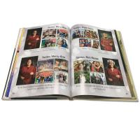 Buy cheap School Yearbook Printing Services Gold Foil Stamp Logo Hard Cover Sewing Binding from wholesalers