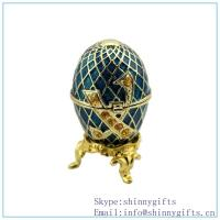 Russian egg jewelry China manufacturer_chandelier egg box sale--purple egg top finding gif