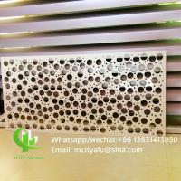 China Interior Exterior    Round Hole Perforated Sheet  Garden Coutry Yard Decoration on sale