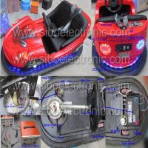 Best Amusement Park Rides Car Bumpers Car Racing Machine Dynamic Outrun Electric For Kids wholesale