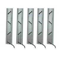 Best Galvanized Steel Greenhouse Accessories , Lock Channel For Greenhouse Sidewall Film wholesale