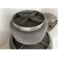China SS 201 304 Air Purification Drift Eliminator Stainless Steel Mesh Pad 431 on sale
