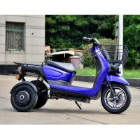 China Electric Motorcycle Tricycle Scooter 2000w Motor Dark Blue Color 72v on sale