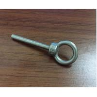 China M3 M4 M5 M6 Stainless Steel Bolt , Lifting Stainless Steel Eye Bolts With High Precise on sale
