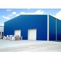 Best Customized Color Steel Shop Buildings / Pre Fabricated Steel Structure Easy Erection wholesale