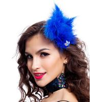 Best Polyester Dance Costumes Accessories Colored Fabulous Feather Headpiece wholesale