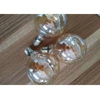 Best G125 8w Led Filament Bulb Triac Dimmable 100lm / W Avoiding Short Circuit wholesale