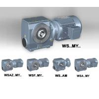 Best WS series helical- worm gearbox wholesale