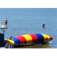 Best Colorful 0.6mm PVC Tarpaulin Inflatable Water Activities Blob Water Sports For Jumping wholesale