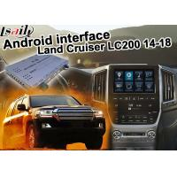 Best Toyota Land Cruiser LC200 Android Navigation Video Interface Upgrade carplay android auto wholesale
