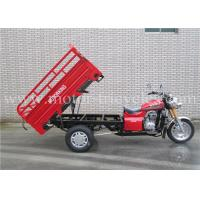 Best Disc Brake Automatic 3 Wheel Motorcycles Steel Plate Chassis / Suspension wholesale