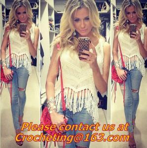 Best women crochet Women Tank Top, summer blouse, tanks top crochet, knit vest, Hand crochet wholesale