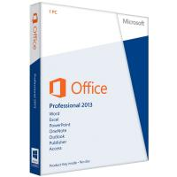 China OEM Standard Microsoft Office 2013 Key Code Professional FPP Key on sale