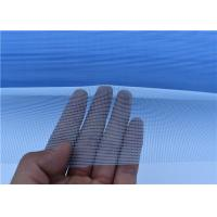 Best Blue White Polymer Invisible Mosquito Window Screen For 0.5-3m Width wholesale