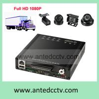 China Best Car Truck DVR HD 1080P, WIFI HDD Mobile Vehicle DVR 4 channel CCTV Video surveillance system on sale
