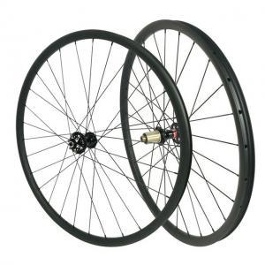 Best MTB 29er Carbon Fiber Mountain Bike Wheels , UD Matte Carbon Fiber Road Wheels wholesale